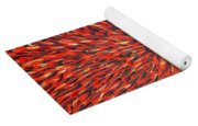 Radiation Red  Yoga Mat