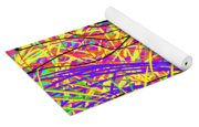 Rainbow Divine Fire Light Yoga Mat