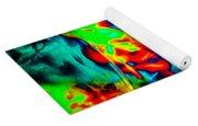 Rainbow Dye Yoga Mat