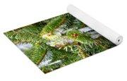 Real Christmas Icicles Yoga Mat