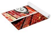 Red Bricks Yoga Mat