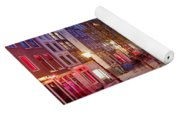 Red Light District In Amsterdam Yoga Mat