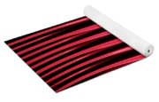 Red Lines Yoga Mat
