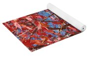 Red Maple Leaves  Yoga Mat