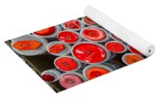 Red Palate Yoga Mat