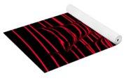 Red Rhythm IIi Yoga Mat
