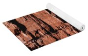 Red Rock Wall Yoga Mat