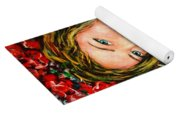Red Roses Yoga Mat