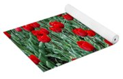 Red Spring Yoga Mat