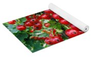 Redcurrant Berries Yoga Mat