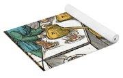 Refining Sulphur, 16th Century Yoga Mat