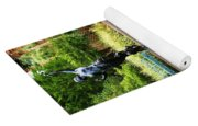Reflected Archer  Yoga Mat