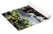 Reflected Great Blue Heron Yoga Mat
