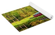 Reflection On The Pond Yoga Mat