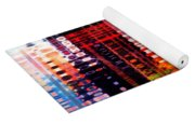 Reflections In Technicolor Yoga Mat
