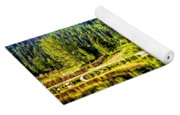 Reflections On A Summer Day - Vail - Colorado Yoga Mat