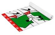 Reindeer Choir Yoga Mat