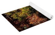Relaxing To Sight Of Nature Yoga Mat