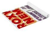 Retro Roxy Cinema Sign Yoga Mat