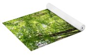 Wooded Path 12 Yoga Mat