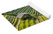 Rice Fields Terraces Yoga Mat