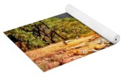 River In Zion National Park Yoga Mat