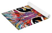 Rodney Abstract Lion Yoga Mat