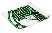 Rolling Rock Lager Yoga Mat