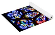 Rose Window Of Grace Cathedral By Diana Sainz Yoga Mat