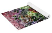 Roses And White Lilacs Digital Painting Yoga Mat