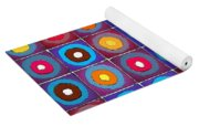 Round Up The Squares Yoga Mat