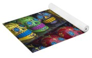 Rows Of Skulls Yoga Mat