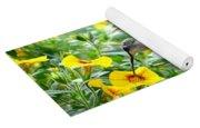 Ruby Throated Hummingbird Yoga Mat
