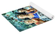 Run For Gold Yoga Mat