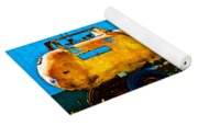 Rustic Tank Art Yoga Mat