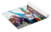Rye Olympic Torch Relay Parade Yoga Mat