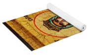 Saint Catherine Of Alexandria Icon Yoga Mat