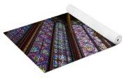 Saint Chapelle Windows Yoga Mat