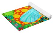 Salamander And Friends Yoga Mat