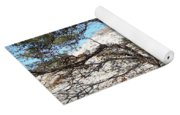 Sand Dune With Trees Yoga Mat
