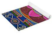 Sand Mandala Yoga Mat