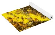 Santa Fe Yellow Yoga Mat