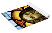Scared Heart Of Jesus Yoga Mat