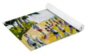 School's Out On The Beach Yoga Mat