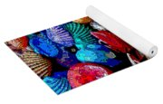 Sea Shell Abstract Yoga Mat
