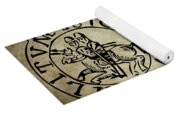 Seal Of The Knights Templar Yoga Mat