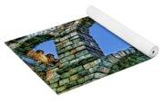 Segovia Aqueducts Blue By Diana Sainz Yoga Mat
