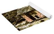Sepia Floating House Yoga Mat