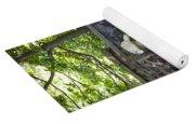 Shady Perennial Garden Yoga Mat