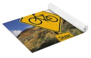 Share The Road Yoga Mat